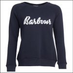 Barbour Ladies Otterburn Sweatshirt Navy 1