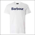 Barbour Men's Logo T-Shirt White 1