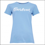 Barbour Rebecca T-Shirt Sky Blue 1