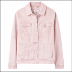 Joules Arkley Relaxed Denim Jacket Light Pink 1