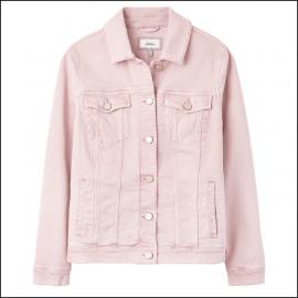 Joules Arkley Relaxed Denim Jacket Light Pink 1