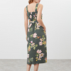 Joules Kimia Woven Strap Dress Green Floral 3