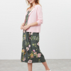 Joules Kimia Woven Strap Dress Green Floral 4