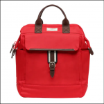 Joules Wells Canvas Rucksack Classic Red 1
