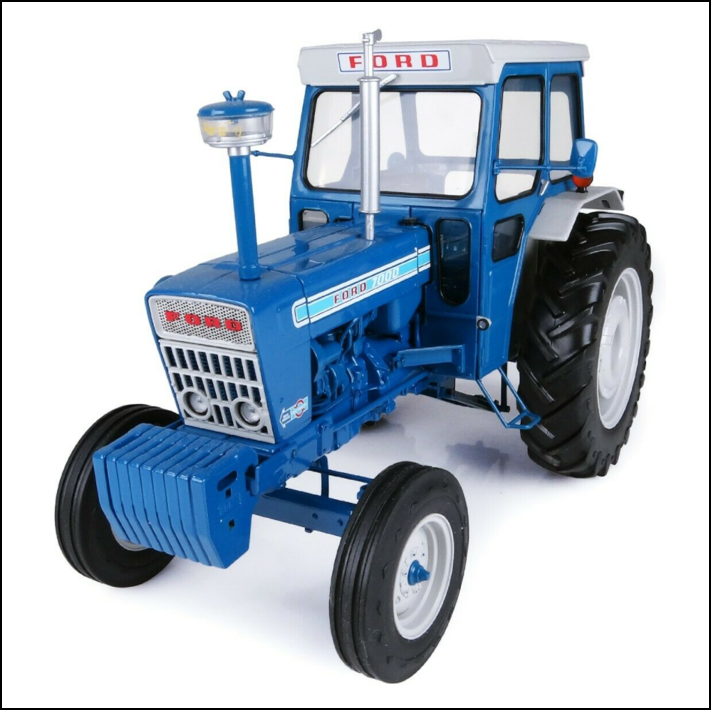 Universal Hobbies Ford 7000 Tractor with Cab 1-16 Scale 1