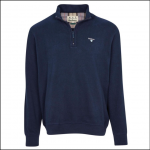 Barbour Bankside Half-Zip Sweatshirt Navy 1