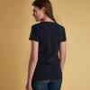 Barbour Whitmore Ladies T-Shirt Navy 2