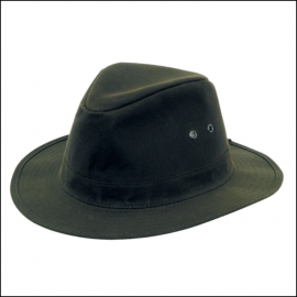 Hoggs of Fife Caledonia Waxed Hat Antique Olive 1