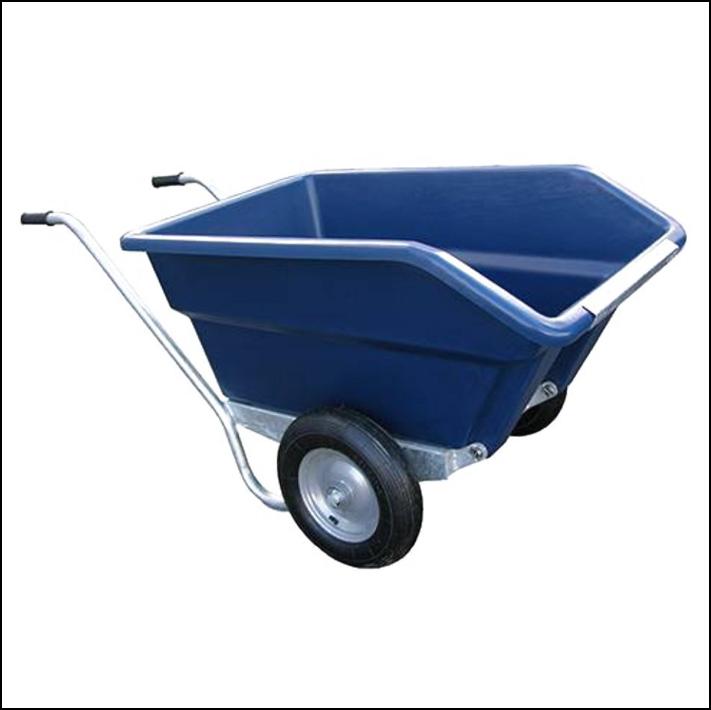 JFC Agri Blue Tipping Wheelbarrow 250L 1