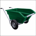 JFC Agri Green Tipping Wheelbarrow 250L 1