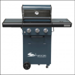 Sahara X350 3+1 Burner Gas Barbecue Smoky Teal