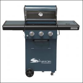 Sahara X350 3+1 Burner Gas Barbecue Smoky Teal 2021 1