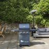 Sahara X350 3+1 Burner Gas Barbecue Smoky Teal 2021 2