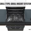 Sahara X350 3+1 Burner Gas Barbecue Smoky Teal 2021 4