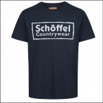 Schoffel Men's Heritage T-Shirt Navy 1