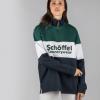 Schoffel Unisex Qtr Zip Navy Rugby Shirt 3