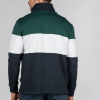Schoffel Unisex Qtr Zip Navy Rugby Shirt 4