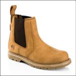 Buckler B2700 Goodyear Welted Dealer Boot Honey Nubuck 1
