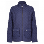 Champion Wisley Ladies Quilted Jacket Navy 1
