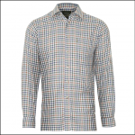 Champion York Men's Shirt Brown Check 1