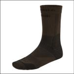 Harkila Anti-Bug Trail Socks Dark Olive-Willow Green