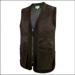Hoggs Struther Waterproof Shooting Vest Dark Green 1