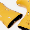 Joules Molly Mid Height Wellies Gold Ducks 3