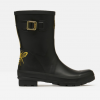 Joules Molly Mid Height Wellies Gold Etched Bee 5