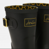 Joules Molly Mid Height Wellies Gold Etched Bee 3