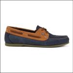 Dubarry Aruba Ladies Deck Shoe Denim-Tan 1