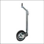 Indespension 3500kg 48mm Ribbed Spring Loaded Jockey Wheel 1