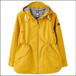 Joules Shoreside Coastal Waterproof Jacket Antique Gold 1