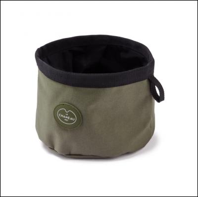 Le Chameau Portable Dog Bowl Vert Chameau 1