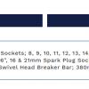 Sealey AK693 32pc Half inch Sq Drive Socket Set Metric-Imperial 3
