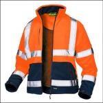 Veltuff Class 3 Hi-Vis Fleece Jacket Orange 1