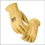 Veltuff Trucker Fleece Lined Leather Gloves