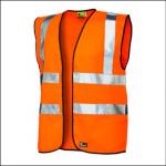 Veltuff Class 2 Reflex Hi-Vis Vest Orange