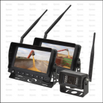 Wireless Reversing Camera System with 2 x 7 inch LCD Monitor & 1 Camera 1