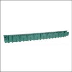 Apollo Plastic Green Lawn Edge 1M x 13cm 1