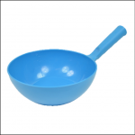 Harold Moore Plastic Round Bowl Feed Scoop