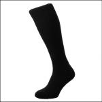 HJ Hall Men's Commando Wool Rich Work Boot Socks Black 1