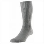 HJ Hall Merino Wool Premium Boot Socks Grey 1