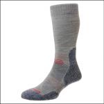 HJ Hall ProTrek Adventure Trek Socks Grey-Blue Marl