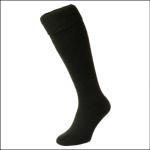 HJ Hall Wellington Boot Sock Green 1