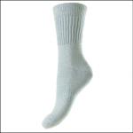 HJ Hall Women's Cotton Garden Socks Cornflower