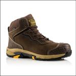 Buckler Tradez Blitz S3 SRC Lightweight Waterproof Safety Lace Boot Brown 1
