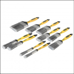 Stanley Tools Loss Free Synthetic Brush Pack 10 Piece 1