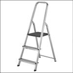 Werner 3 Tread High Handrail Step Ladders 1