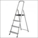 Werner 4 Tread High Handrail Step Ladders