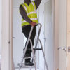 Werner 4 Tread High Handrail Step Ladders 2